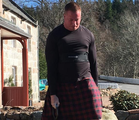 Bryan Hunsaker From United States Breaks Record For Lifting The Famous Dinnie Stones Heraldscotland