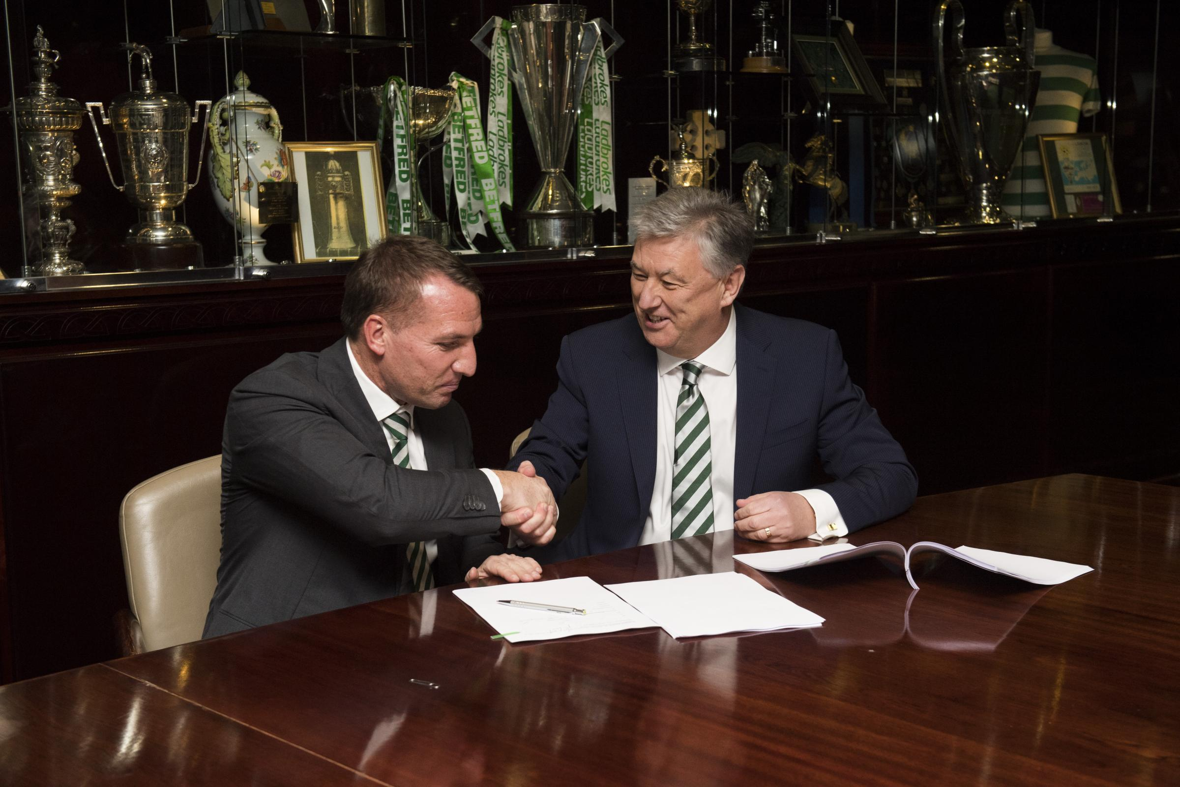 Peter Lawwell: Don't even waste your time attempting to persuade Brendan Rodgers to leave Celtic