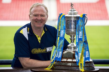 HeraldScotland: Alex McLeish looks ahead to the Scottish Cup semi-final between Celtic and Rangers
