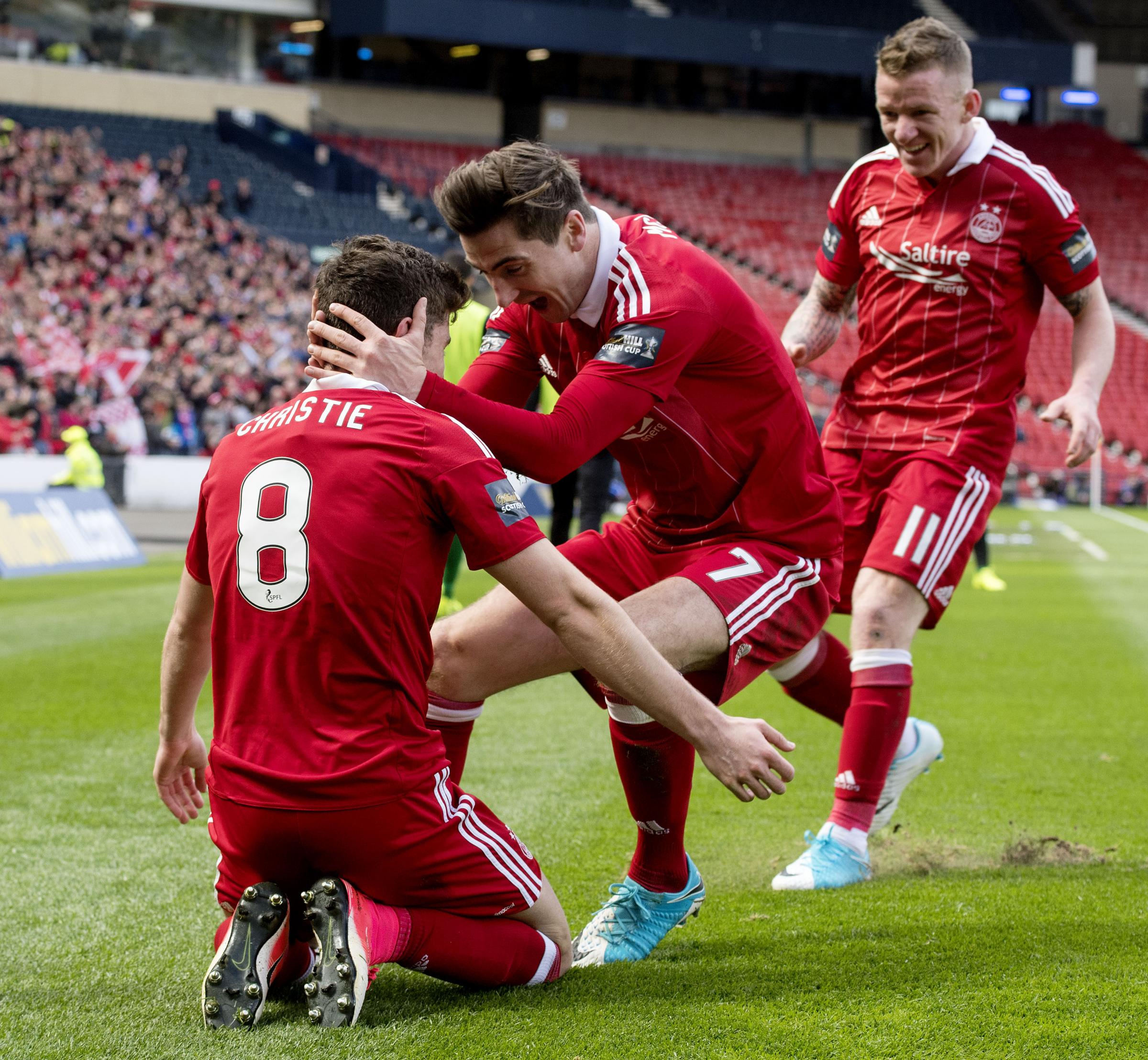 Scottish Cup dilemma for Aberdeen hero Ryan Christie as win for parent club Celtic rules him out of final