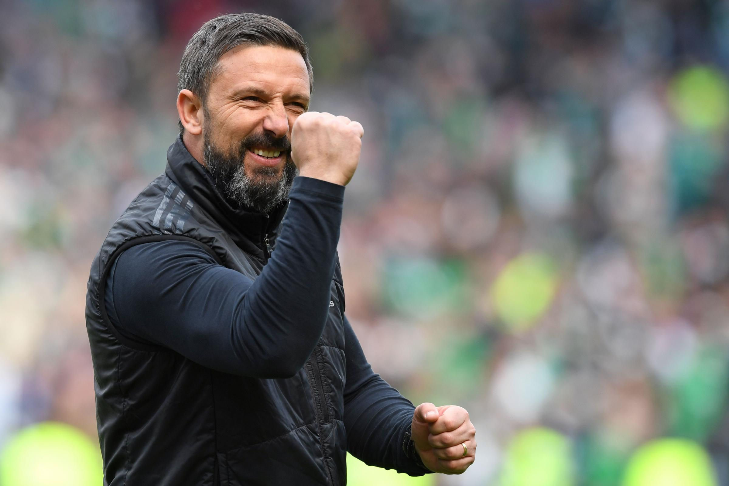 "Tale of two managers as Derek McInnes praises Aberdeen's fortitude while Neil Lennon labels Hibs ""pathetic"""