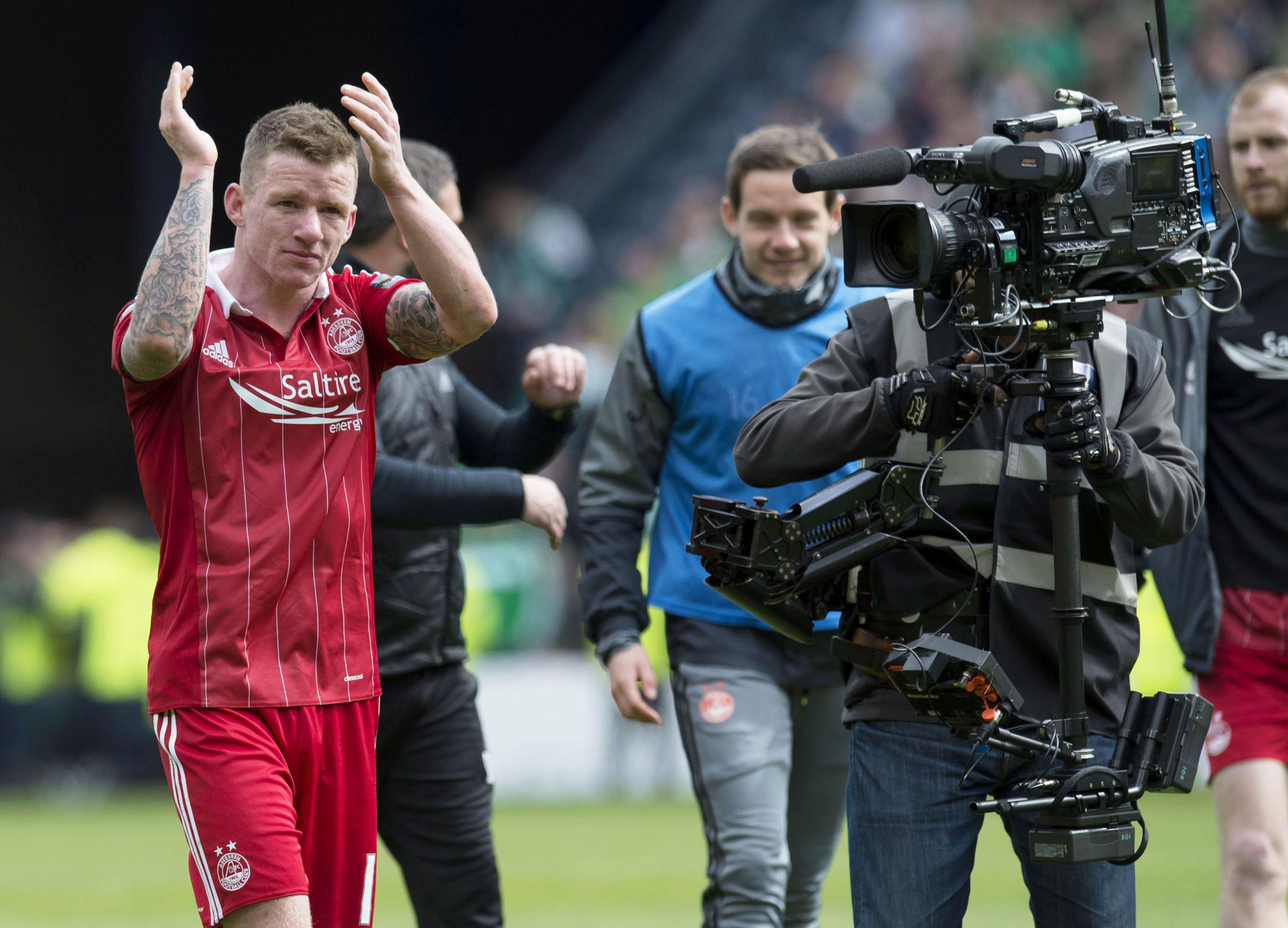 Runners-up medals mean nothing to Jonny Hayes as he eyes Aberdeen upset over Celtic at Hampden