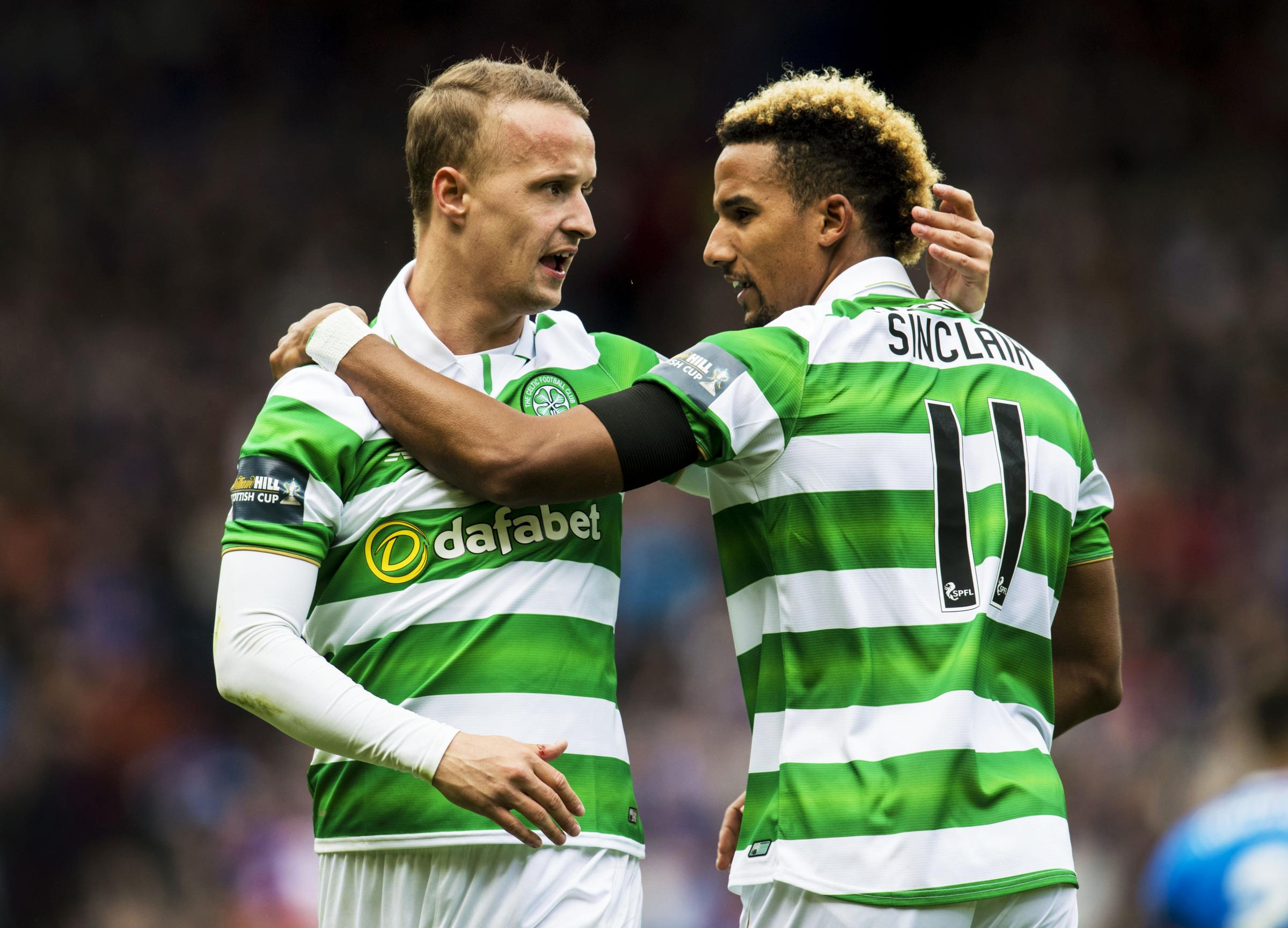 Brendan Rodgers urges Celtic striker Leigh Griffiths to seize his chance during Moussa Dembele's absence