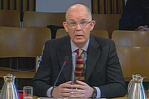 Ken Barclay gives evidence to MSPs