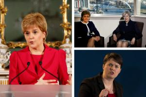 Theresa May more in touch with Scots than Nicola Sturgeon, Tories claim