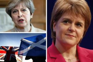 Stronger together: May visits Scotland to insist Tory victory will strengthen Union and Scottish economy