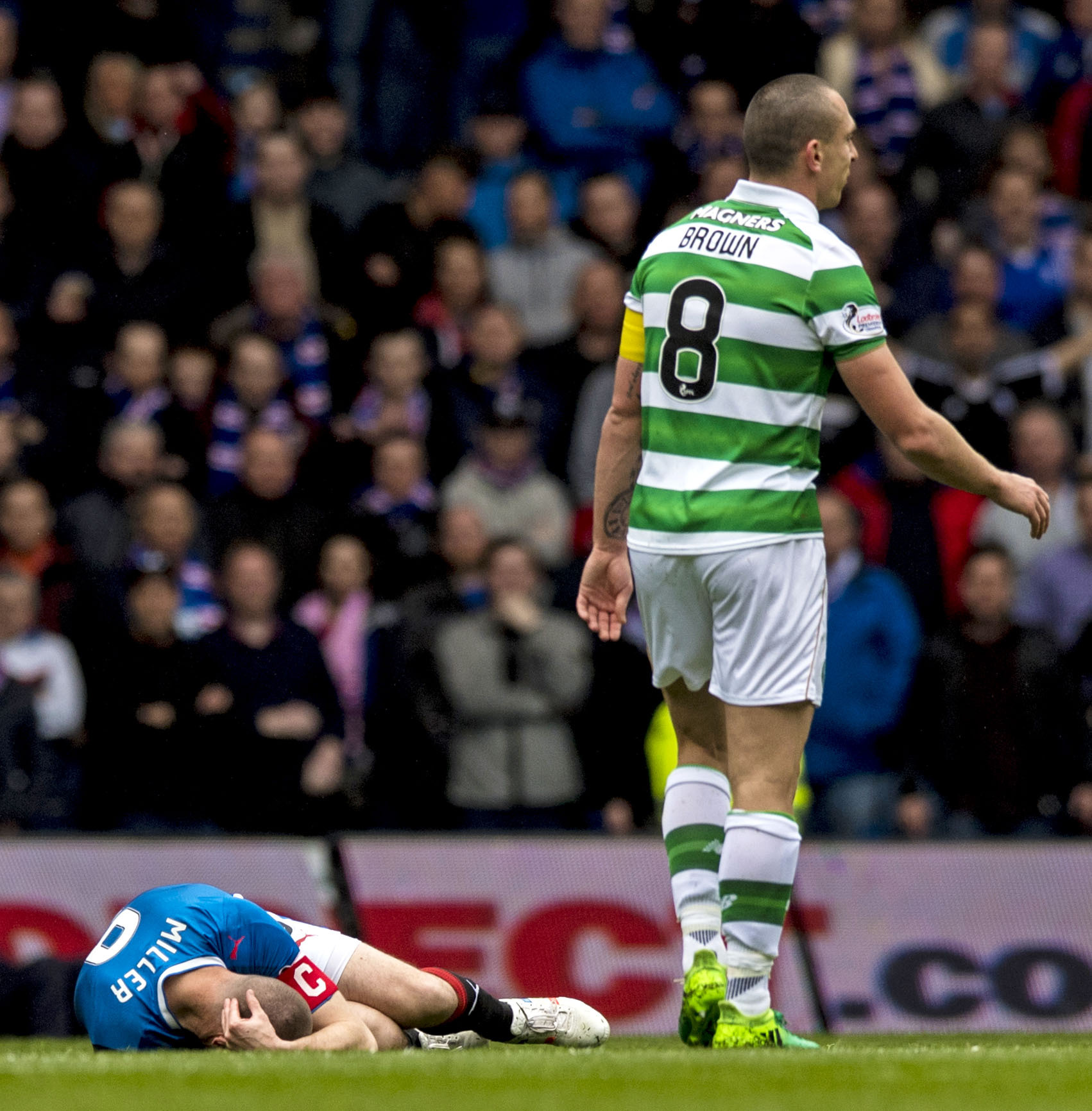 Kenny Miller: Scott Brown knew what he was doing – and I could have been hurt by Jozo Simunovic challenge