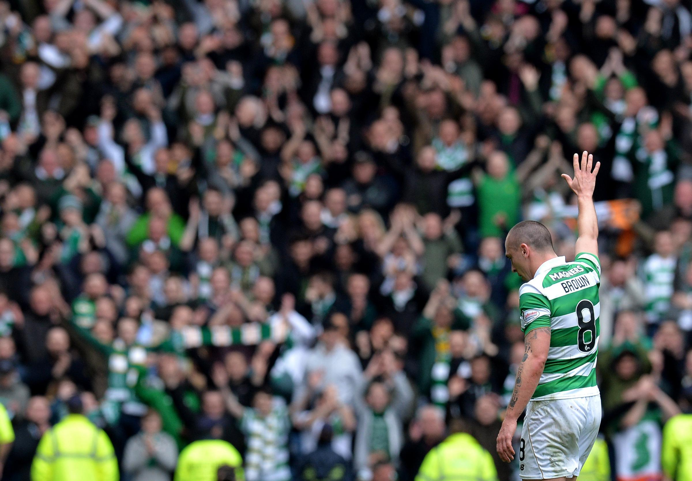 Celtic captain Scott Brown reveals extent to which Hoops spooked Rangers