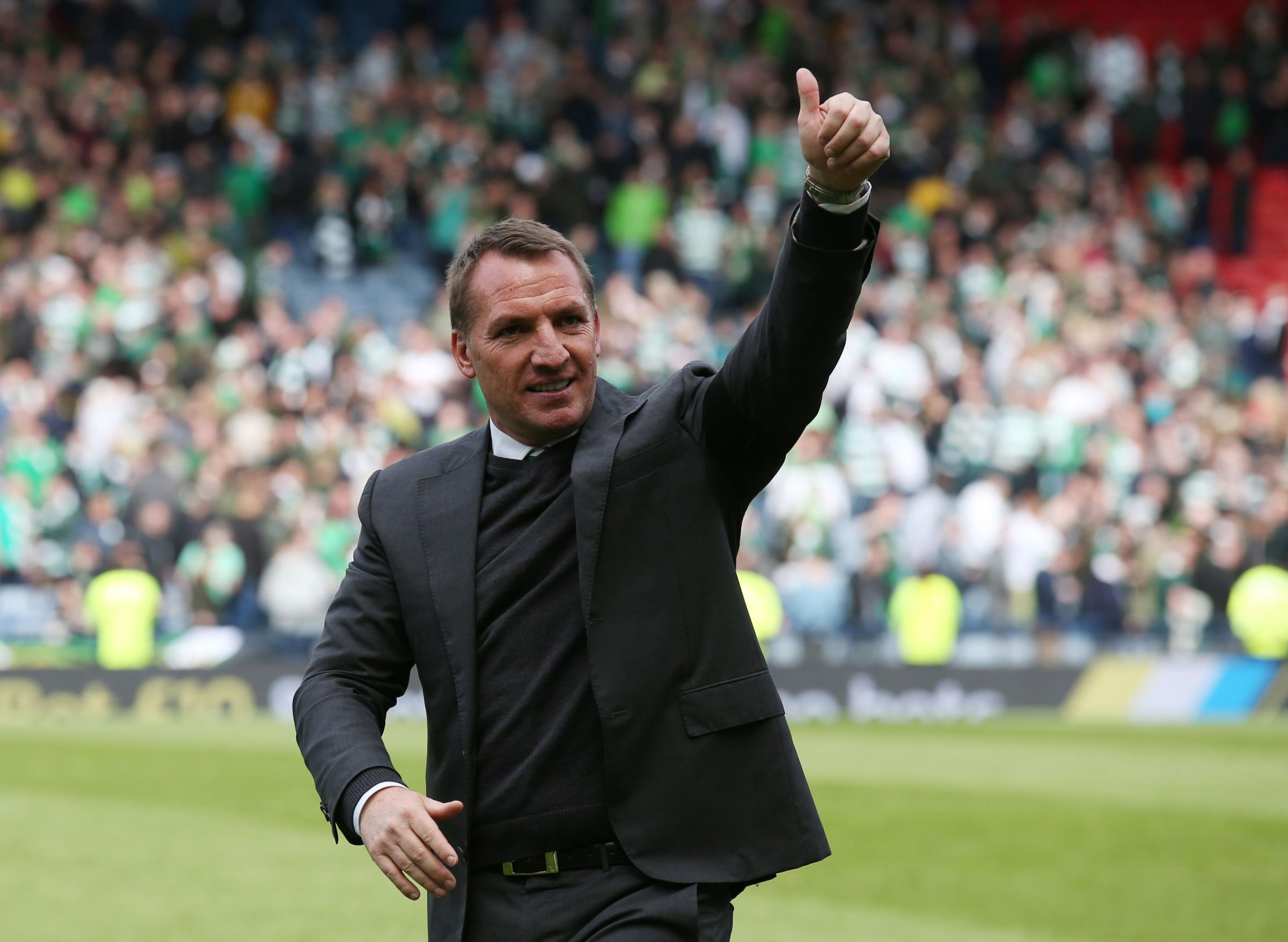 Dermot Desmond thought I would be too full of myself, reveals Brendan Rodgers
