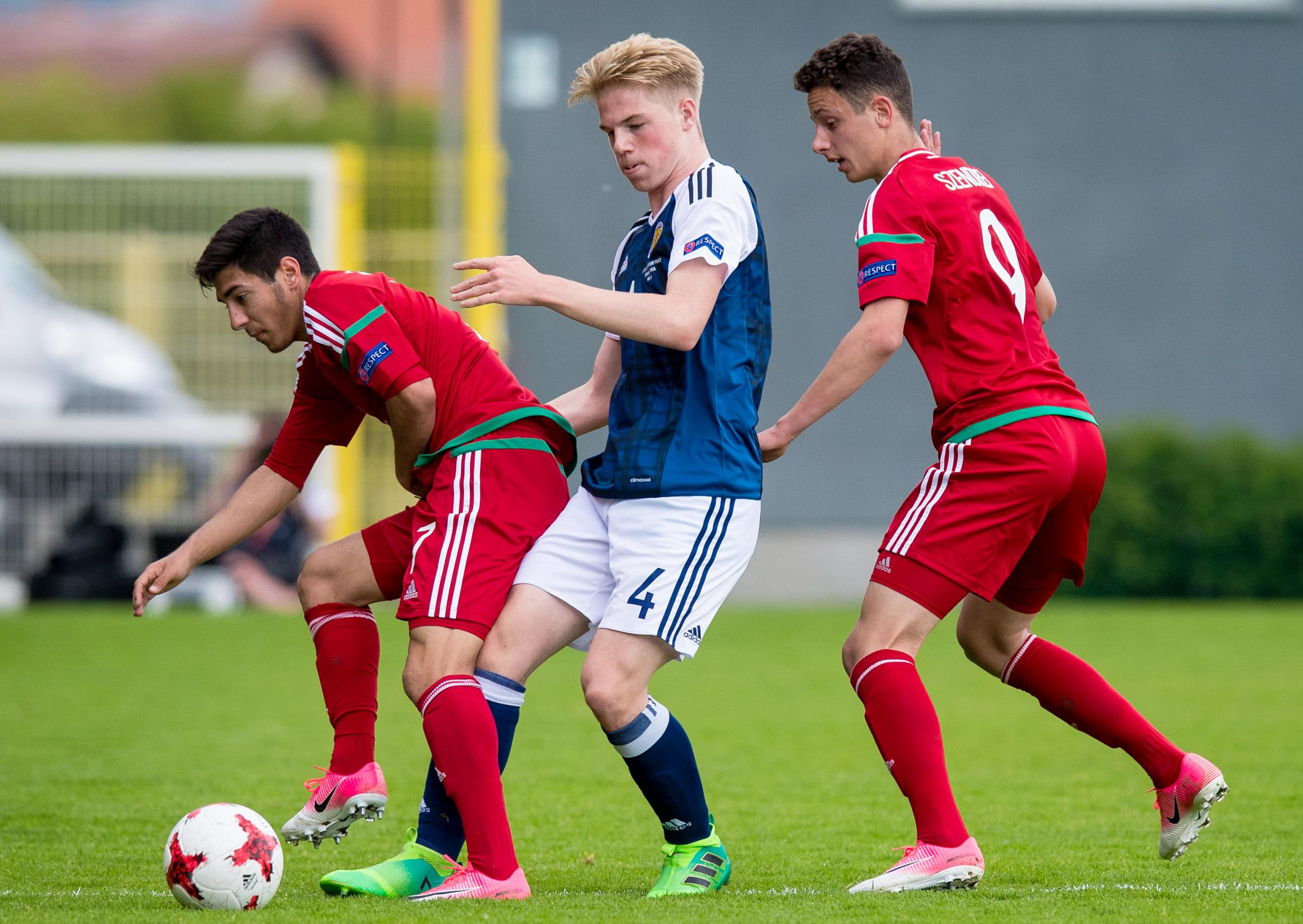 Scotland Under-17 1 Hungary Under-17 1 – Celtic youngster Welsh taking inspiration from Simunovic tackle in O** F*** match