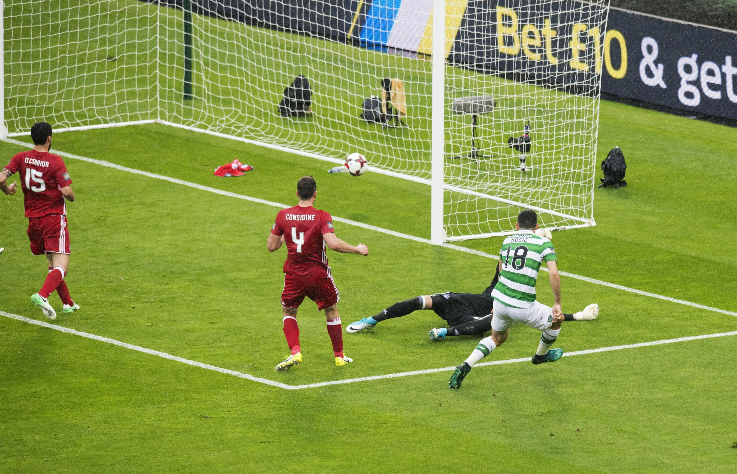 Celtic marks out of ten: Tom Rogic is the hero as Celtic end the invincible treble winners