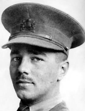 WILFRED OWEN: Killed a week before the Armistice.