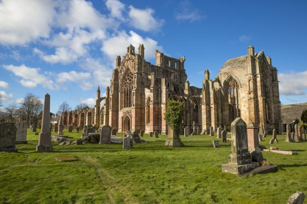 HeraldScotland: Melrose Abbey remains the most popular paid-for attraction in the Borders