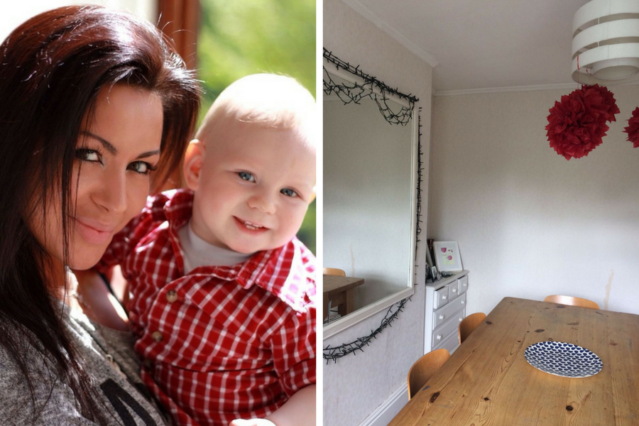 File photo (left) and photo issued by Childcare.co.uk of the living quarters provided for a nanny at a house in the Scottish Borders. (PA)
