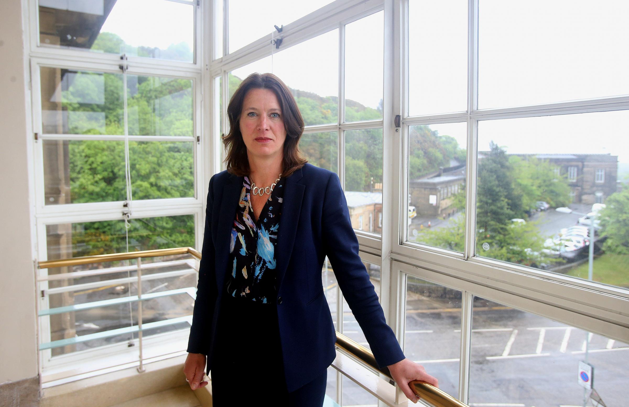 Dr Catherine Calderwood, the Chief Medical Officer for Scotland, photographed at St Andrew's House in Edinburgh. Picture: Gordon Terris/Herald & Times