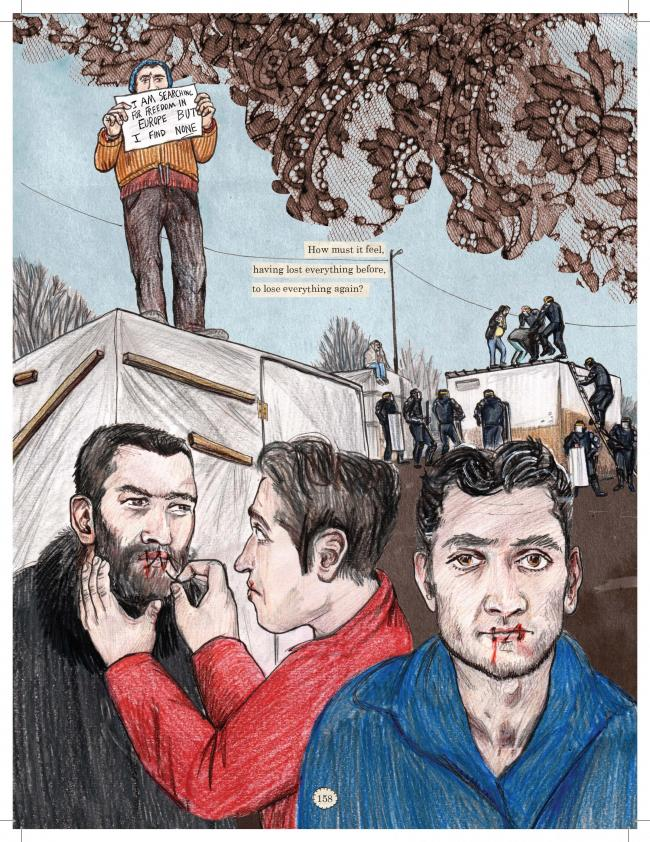 Graphic Content: Kate Evans on refugees, the Calais Jungle and the power of graphic journalism