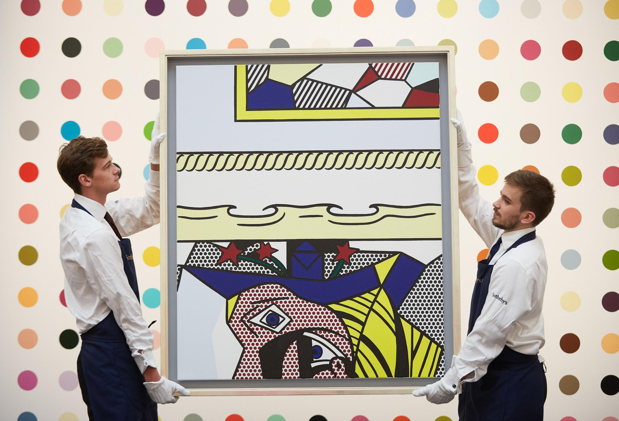 Close encounters of a multi-coloured kind before London auction