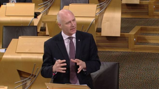The SNP's Minister for Parliamentary Business Joe FitzPatrick, above, has come under criticism for aligning the Scottish Government to a respected international body which promotes transparency