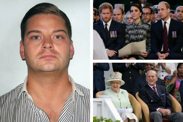 Royal sex and drugs blackmail plot