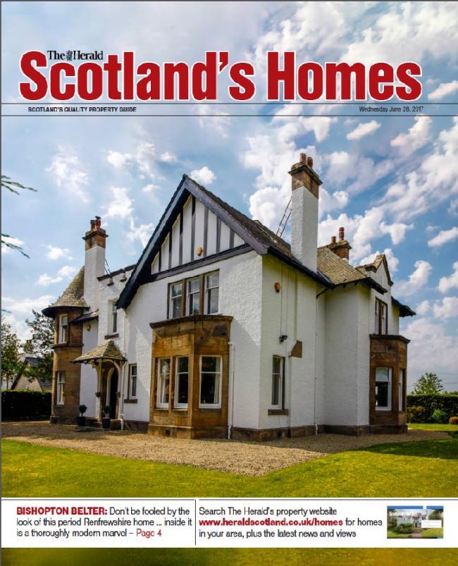 scotland s homes magazine heraldscotland