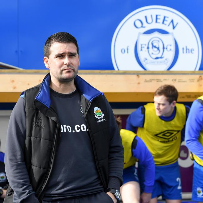 Linfield manager David Healy. Picture: SNS