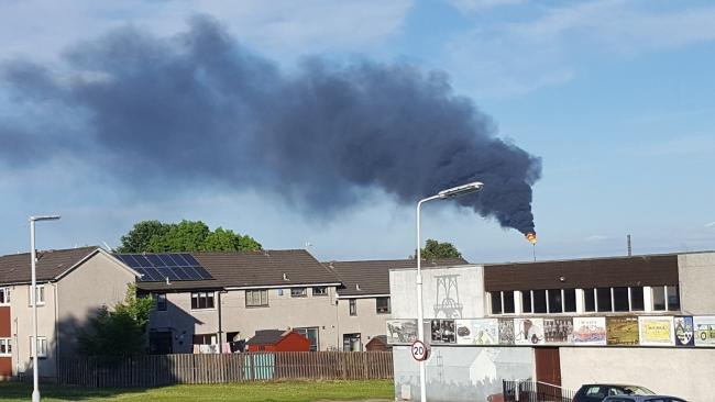 Oil companies facing legal action after breakdowns flaring and one of the gas flares at the mossmorran petrochemical complex near cowdenbeath in fife photograph malvernweather Gallery