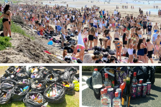 Glasgow trains in alcohol ban to stop drunken teenagers invading Ayrshire beach