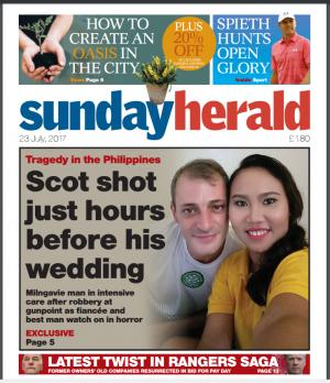 HeraldScotland: Today's front page of The Herald