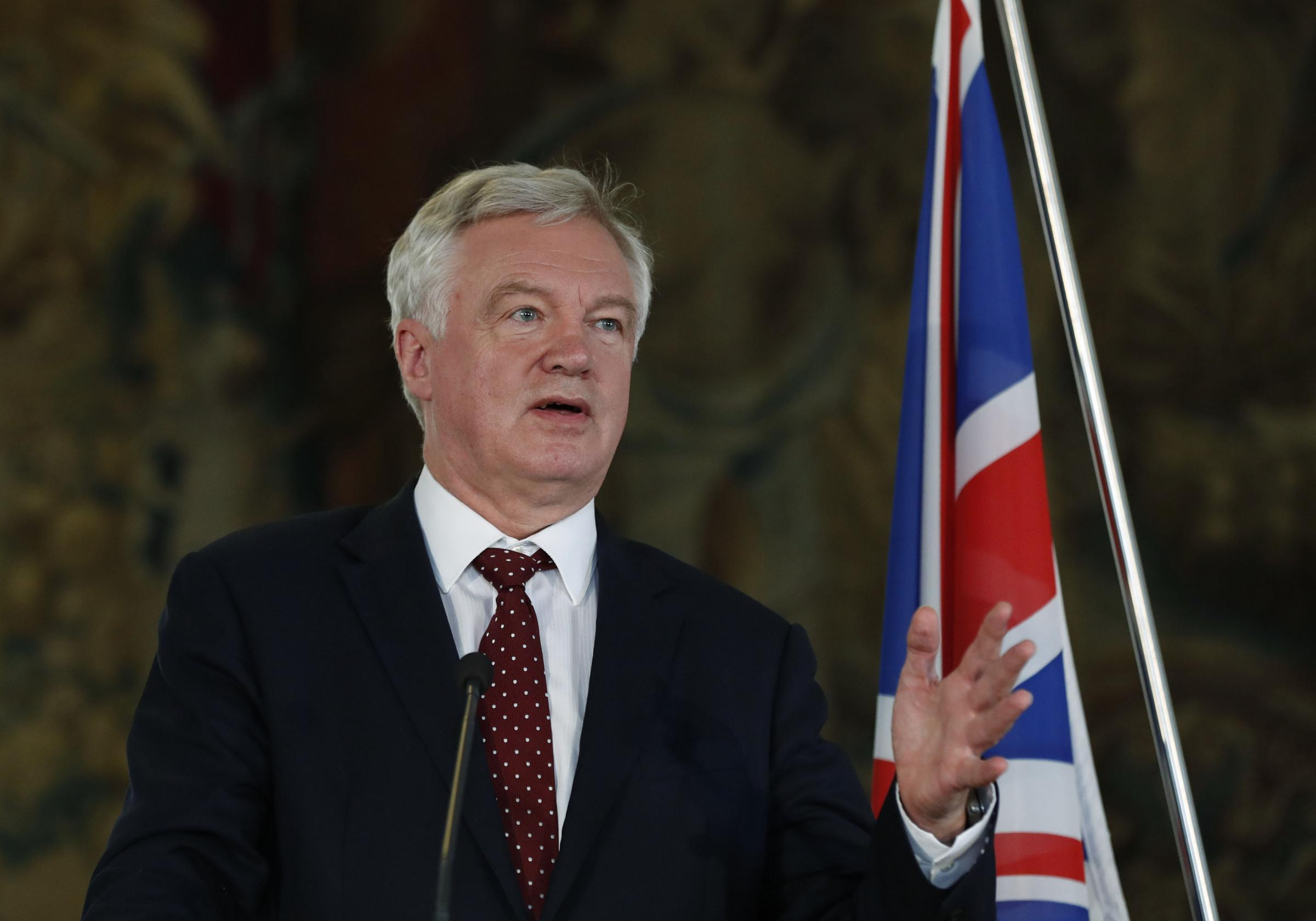 Moral imperative to secure EU citizens' rights, insists Davis, but role of ECJ is sticking point