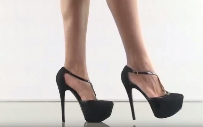 28e9715fb0cd Scots researchers call for ban on compulsory high heels at work and  question stiletto sales to
