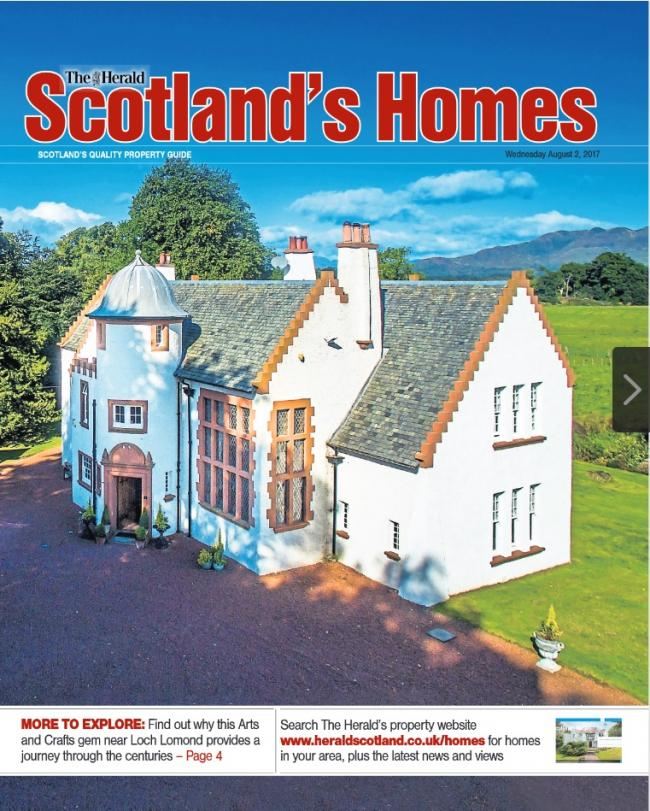 Scotland's Homes magazine August 2