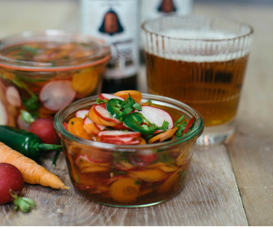 Recipe of the Day: IPA Beer Pickles by MILK in Edinburgh