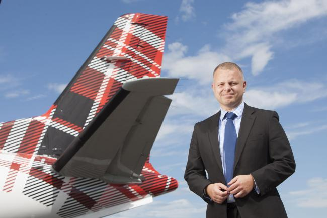 Loganair's managing director, Jonathan Hinkles, has announced a new 'codeshare' agreement with British Airways.