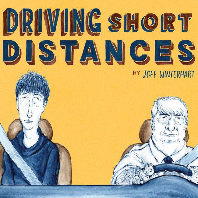Graphic Content: Joff Winterhart talks Fred Dibnah and his new graphic novel Driving Short Distances