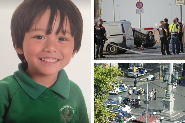 Image result for Looking into reports of missing British child in Spain attack: May