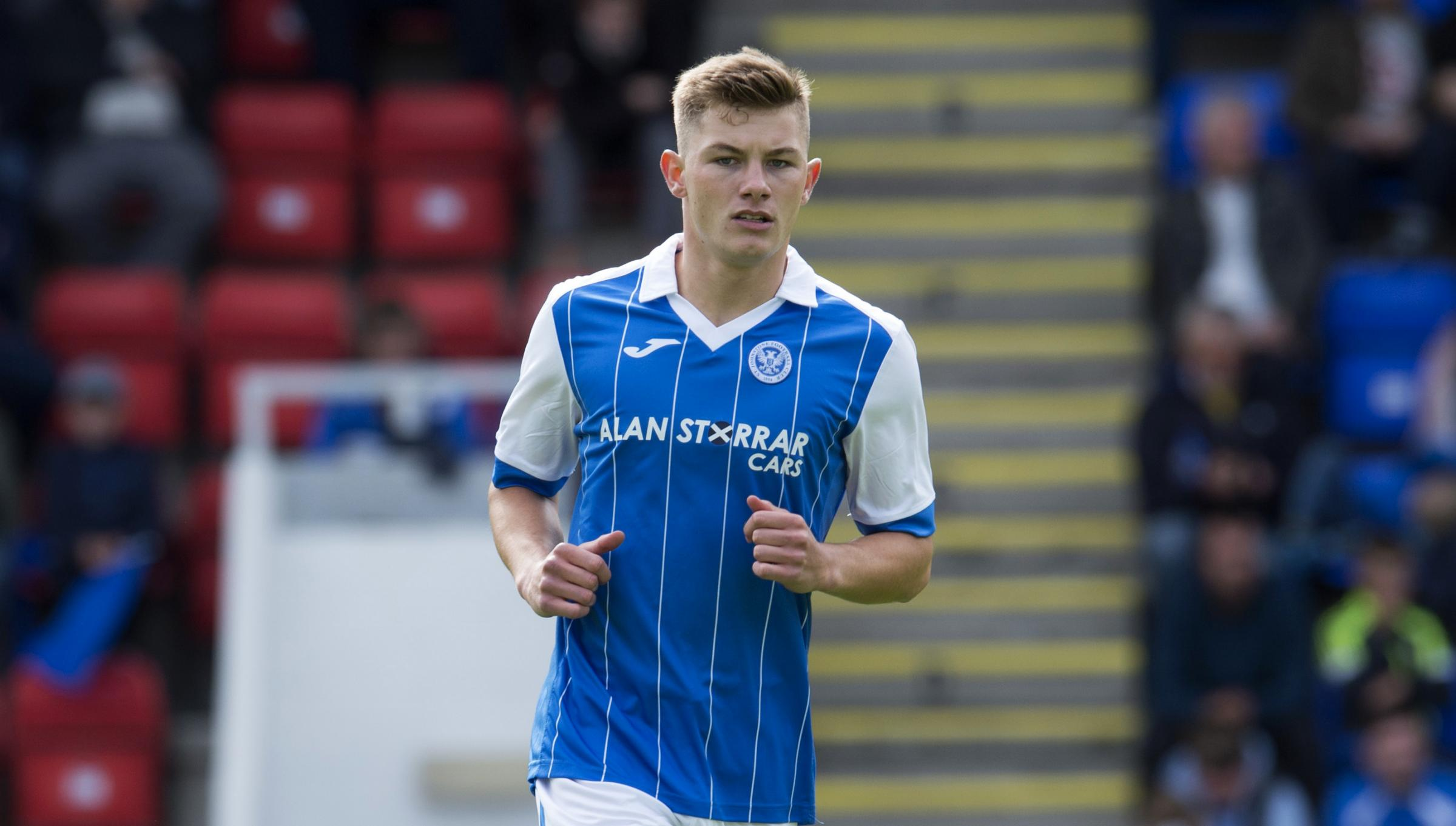 Callum Hendry is hoping to establish himself in the St Johnstone first team this season   Photograph: SNS