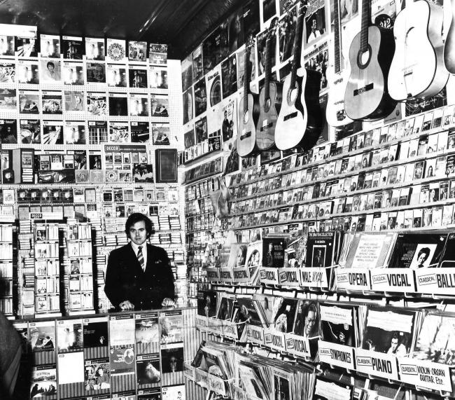 Gloria's record shop