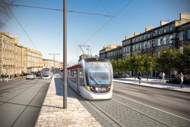 Edinburgh trams extension cost to hit £207m