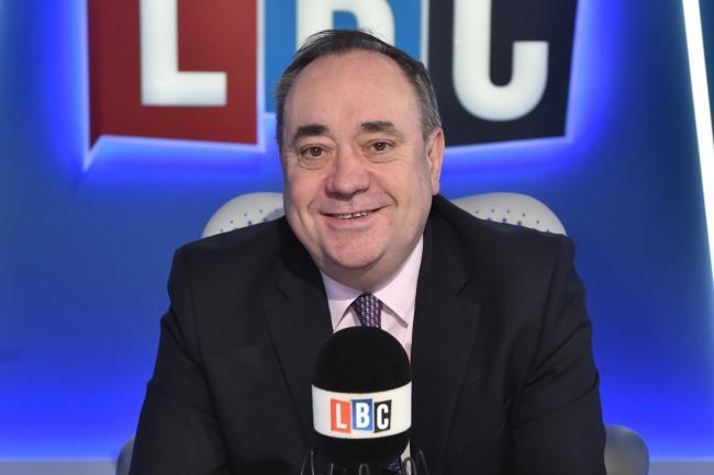 Alex Salmond's Sunday sermon as ex-SNP leader signs up to
