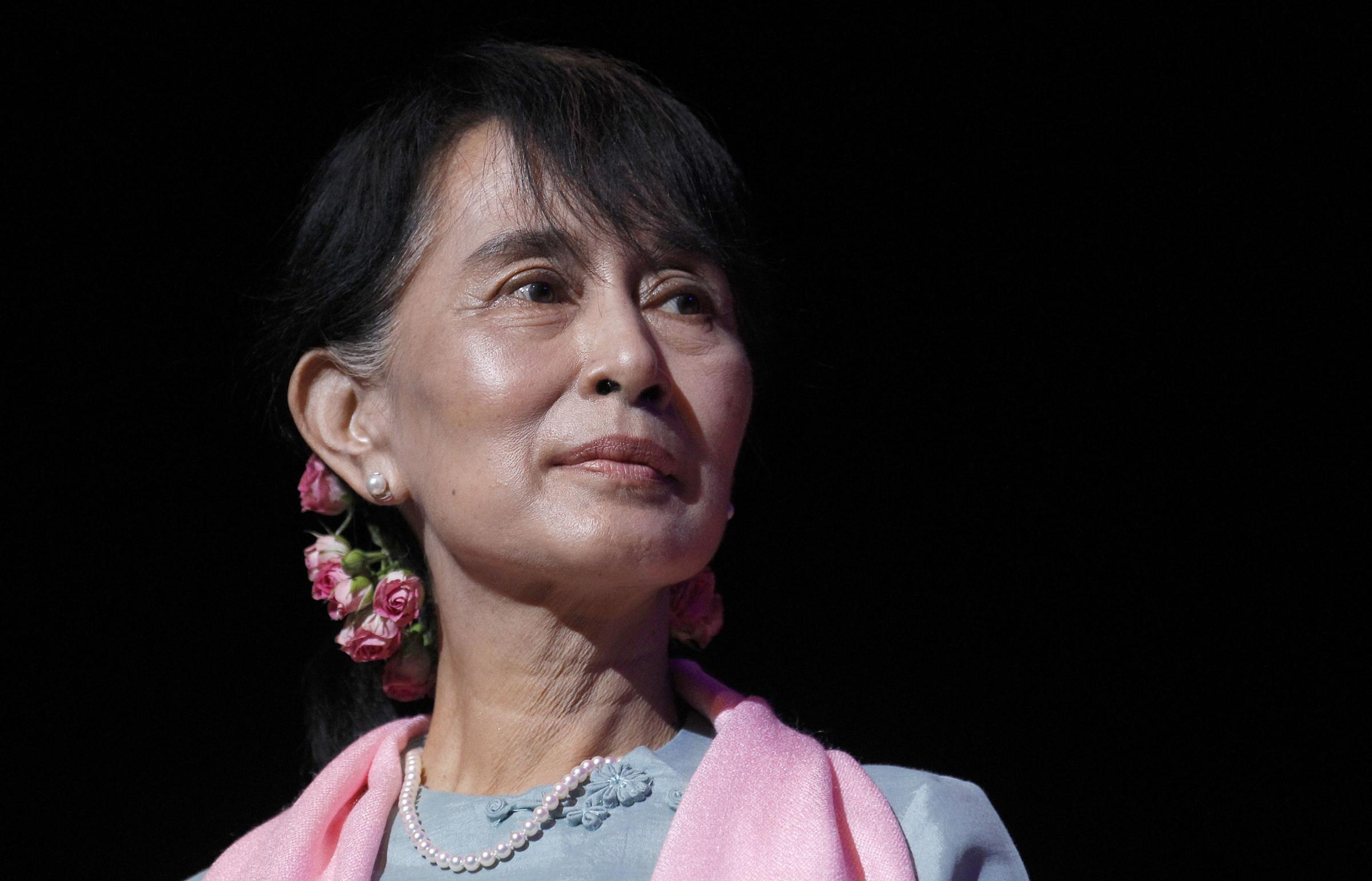 Perfect Hostage: A Life of Aung San Suu Kyi, Burma's Aung san suu kyi sons photos