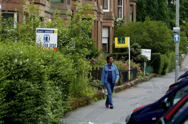 Housing crisis looming as thousands more Scots are forced to rent