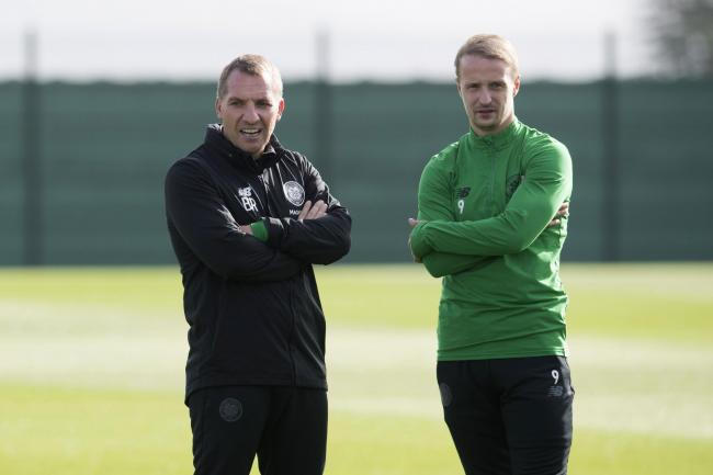 Brendan Rodgers has praised Celtic striker Leigh Griffiths, and has told Moussa Dembele he will have to bide his time.