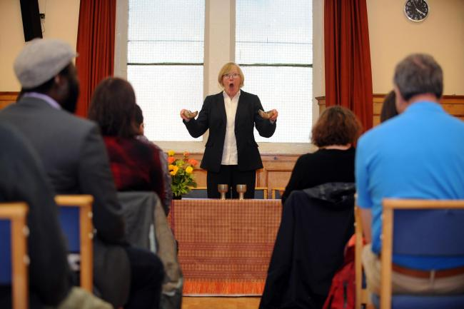 Jane Clarke, Metropolitan Community Church. Picture: Michael Boyd