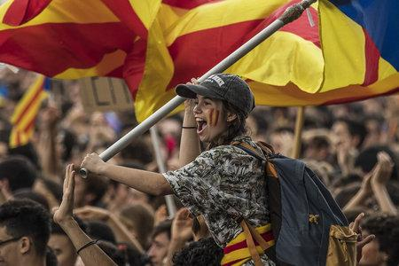 Barcelona has seen huge independence rallies
