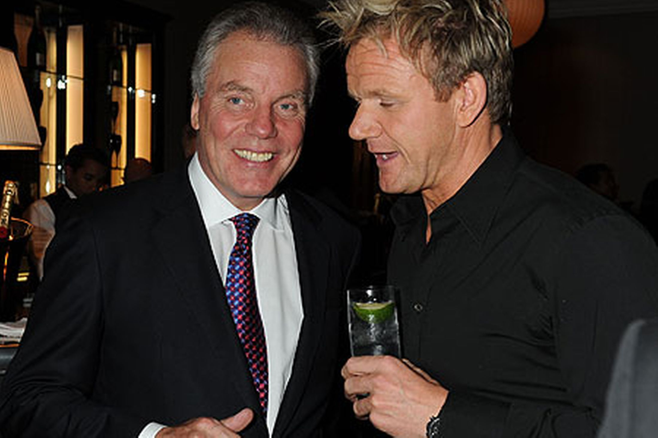 FAMILY FEUD: Christoper Hutcheson and his son-in-law Gordon Ramsay have been in a long-running quarrel.