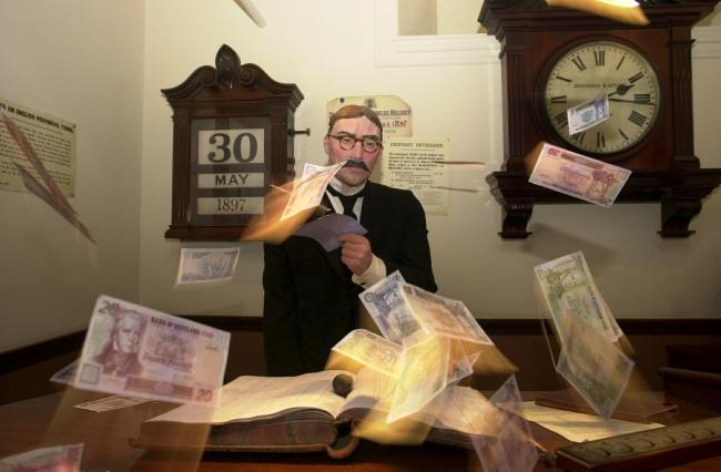 Money is firmly in focus at the Museum on the Mound exhibition.