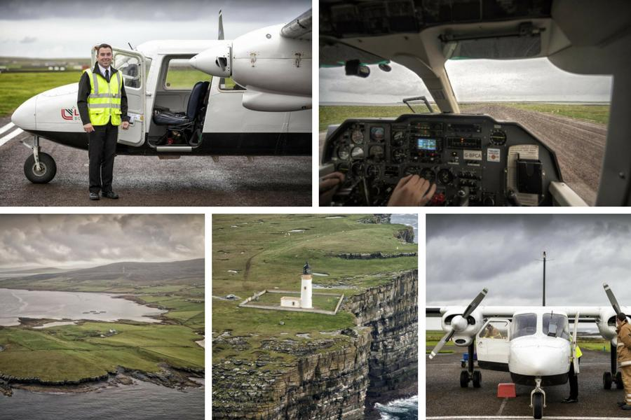 Scotland From The Air: Orkney island-hopping and Fair Isle ...