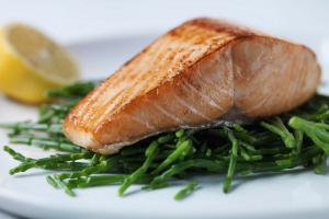 Recipe of the Day: Pan Roasted Native Hebridean Salmon with Samphire