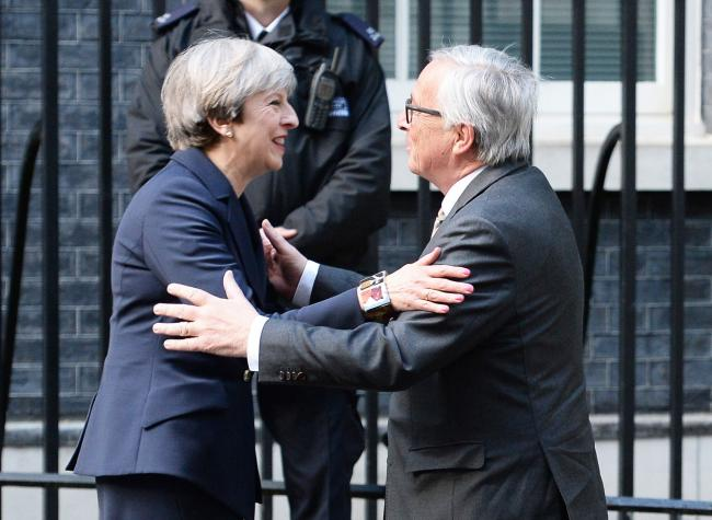 Entente cordiale? May to dine with Juncker to unblock Brussels logjam