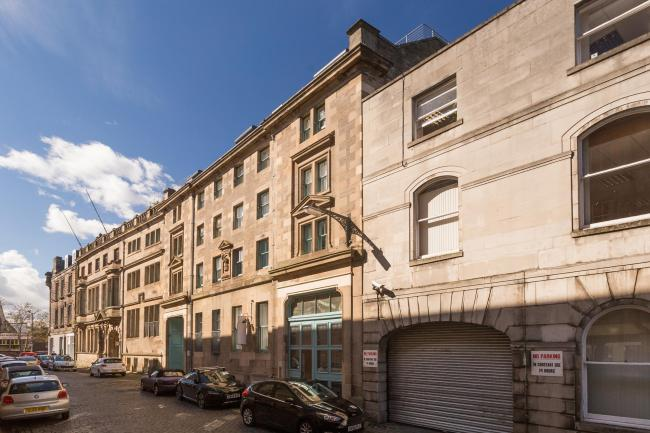 The Leith Lofts development where flats can sell for around the capital's average of £246,000